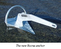The new Rocna anchor