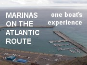 Marinas on the Atlantic route